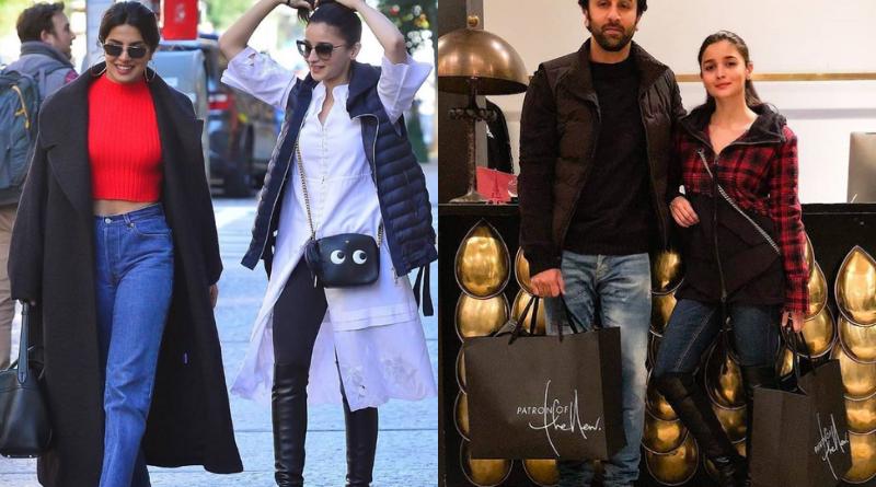 Alia Bhatt Spotted in New York with Beau Ranbir Kapoor and Priyanka Chopra