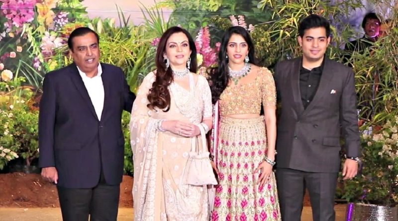 Here is the First glimpse of the Akash Ambani and Shloka Mehta Wedding Invitation Card