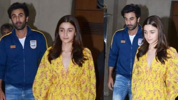Alia Bhatt and Ranbir Kapoor Celebrated Valentine's Day with Special Dinner