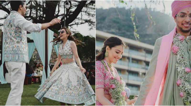 Inside Pictures of Anita Dongre's Son Wedding, She Designed her Bahu Lehenga